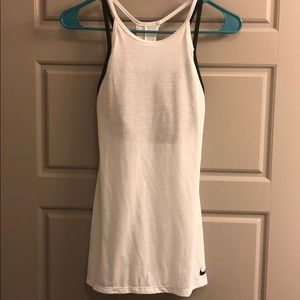 Nike DRI-FIT light blue tank